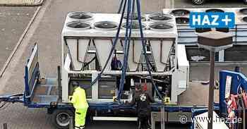 CCL Langenhagen: Tonnenschwerer Autokran liefert Punktlandung - Hannoversche Allgemeine
