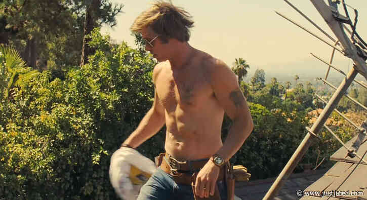 It Was Brad Pitt's Idea to Remove His Shirt Like That in 'Once Upon a Time in Hollywood'