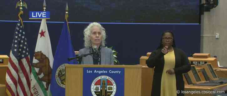 LA County Sees 548 New Coronavirus Cases Tuesday, 10 New Deaths
