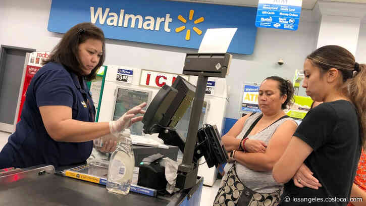 Walmart & Sam's Club To Check Employees' Temperatures, Offer Masks And Gloves