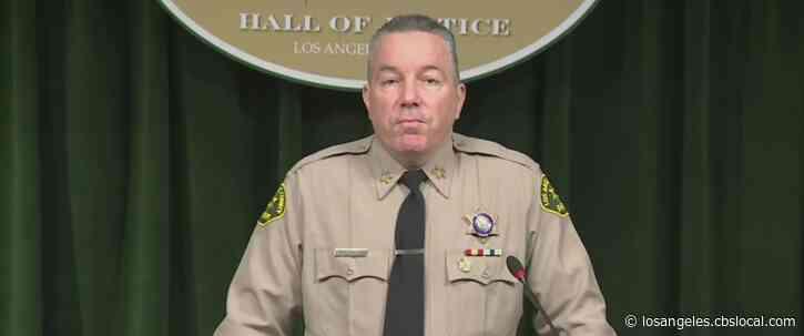 LA County Board Removes Sheriff Alex Villanueva As Head Of Emergency Operations