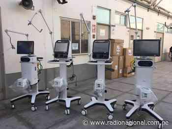 Hospital Regional de Ica adquiere 04 ventiladores mecánicos para atención de pacientes con Covid-19 - Radio Nacional del Perú