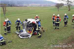 Schwerer Unfall auf B27 zwischen Erzingen und Dotternhausen: Feuerwehr im Einsatz - Zollern-Alb-Kurier