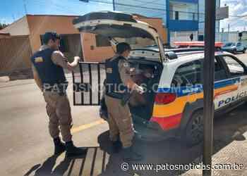 Suspeito de efetuar dois roubos é preso em Lagoa Formosa - Patos Notícias