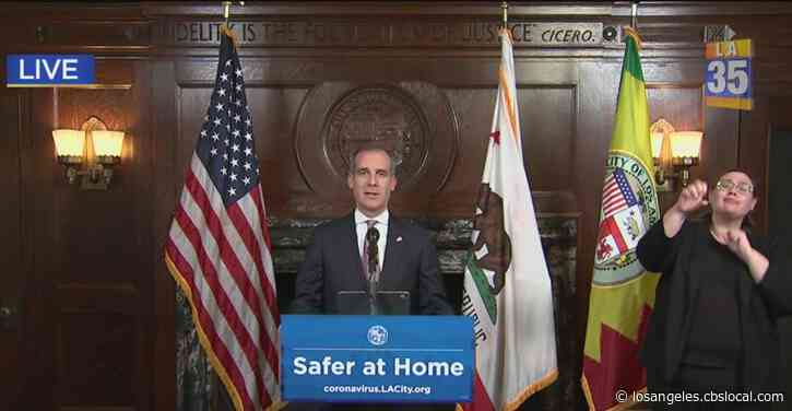 'Snitches Get Rewards': Garcetti Issues New Rules For Construction Sites, Encourages Community To Report Safer At Home Violators