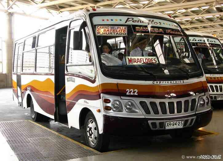 Flotas de buses de Talagante y Peñaflor suspenden servicios para evitar contagio de COVID-19 - CNN Chile