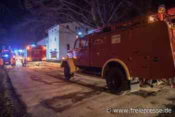 Angebranntes Essen: Feuerwehr rückt in Langenau an - Freie Presse