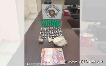 Tráfico de drogas leva dois para a delegacia em Jaboticabal - Rádio 101FM