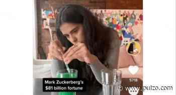 Periodista compara en TikTok la donación de Mark Zuckerberg con su fortuna - Pulzo.com