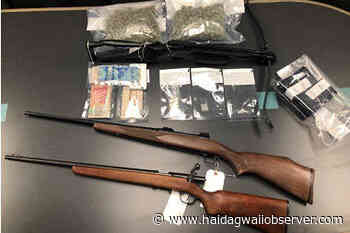Masset RCMP seize 'substantial' amount of guns, cash in Friday the 13th drug bust - Haida Gwaii Observer