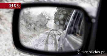 Neve corta estradas na Serra da Estrela, Cinfães e Resende - SIC Notícias