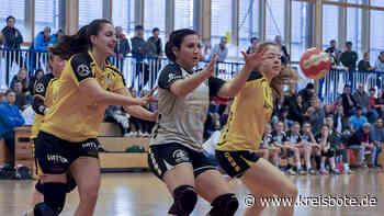 Die Handball-Damen des TSV Pfronten unterliegen im Spitzenduell und fallen auf Platz 3 zurück - Kreisbote