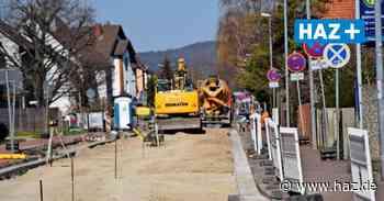 Ronnenberg: Arbeiten an der Bröhnstraße haben nur wenig Verzögerung - Hannoversche Allgemeine