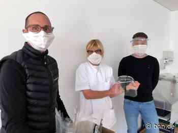 Lehrer aus Baden-Baden unterstützen Kliniken mit Schutzschilden aus dem 3D-Drucker - BNN - Badische Neueste Nachrichten