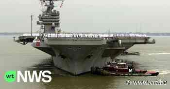 Coronavirus verlamt ook Amerikaanse vliegdekschepen en marinebasis in de Stille Oceaan - VRT NWS