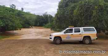 Chuva causa inundação em distrito de Santa Teresa-ES - Colatina em Ação