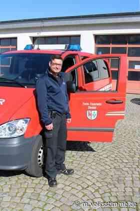 Der neue Chef der Brandbekämpfer - Volksstimme