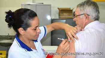 Prefeitura de Montes Claros dá continuidade à vacinação contra a gripe - Prefeitura de Montes Claros
