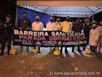 Prefeitura de Penedo adota novas medidas de controle nas barreiras sanitárias - Aqui Acontece