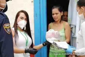 Los adultos mayores de Apía, recibieron el complemento nutricional fortificado - El Diario de Otún