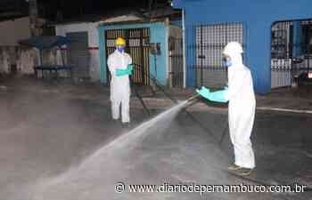 Covid-19: Prefeitura de Itapissuma desinfecta ruas e avenidas da cidade - Diário de Pernambuco
