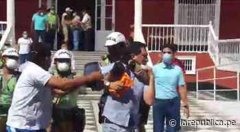 Trujillo: autoridades protagonizan bochornoso incidente en plena emergencia por el coronavirus [VIDEO] - LaRepública.pe
