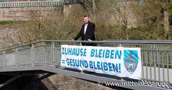 Stadt Weilburg wirbt mit Plakaten - Mittelhessen