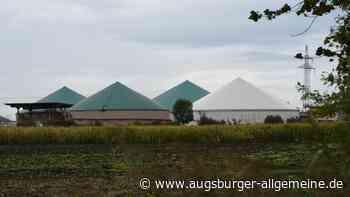 Brand in Biogasanlage: Hoher Schaden in Habertshausen - Augsburger Allgemeine