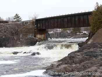 Sudbury photo:Vermilion River starting to rise