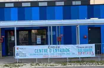 Herblay-sur-Seine : le centre d'urgence Covid-19 devient un centre d'entraide - Le Parisien