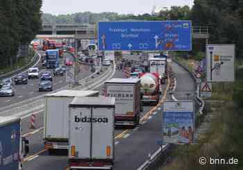 A5 wird in Fahrtrichtung Karlsruhe nachts zweimal gesperrt - BNN - Badische Neueste Nachrichten
