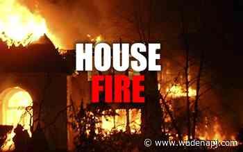 Unoccupied structure fire under investigation - Wadena Pioneer Journal