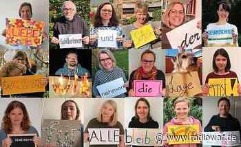 Lehrer der Gesamtschule Warendorf schicken Fotogruß an Schüler - Radio WAF