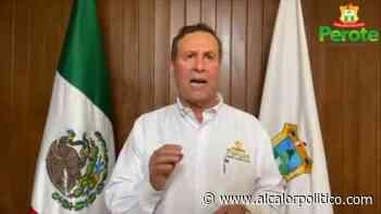 En Perote, Ayuntamiento suspende actividades no esenciales por contingencia sanitaria - alcalorpolitico