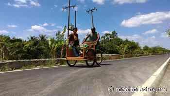 Reconstruyen caminos rurales en Oxkutzcab y Chapab - Reporteros Hoy