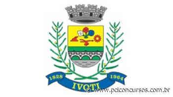 Prefeitura de Ivoti - RS abre um novo Concurso - PCI Concursos