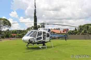 Recém-nascido é transferido de helicóptero de Palotina - CGN