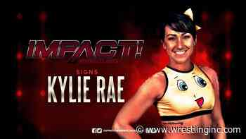 Kylie Rae Signs Long-Term Impact Wrestling Contract - Wrestling Inc.
