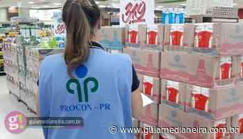 Procon-PR notifica comércio e fabricantes de laticínios - Guia Medianeira