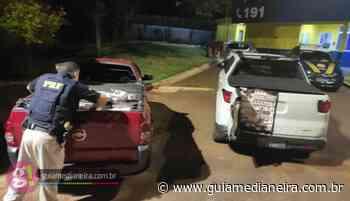 Céu Azul: PRF apreende dois veículos carregados com cigarros contrabandeados - Guia Medianeira