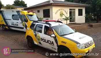 Medianeira: Homem acaba detido pela PM após agredir funcionário da Sanepar - Guia Medianeira