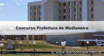 Concurso Prefeitura de Medianeira PR: Inscrições abertas - DIARIO OFICIAL DF - DODF CONCURSOS