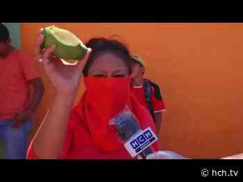 ¡Comida! exigen pobladores de La Guama, frente a la alcaldía de Comayagua - hch.tv