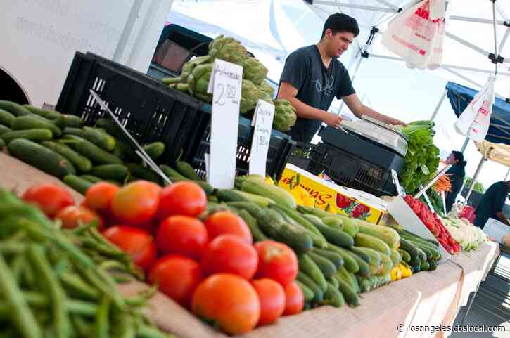 Multiple Farmers Markets Permitted To Reopen In LA Under Social Distancing Plans