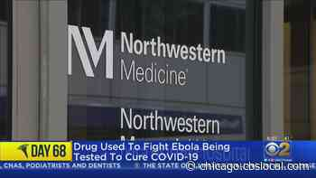 Drug Used To Fight Ebola Being Tested To Cure COVID-19 - CBS Chicago