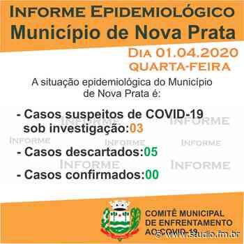 Nova Prata tem mais um caso suspeito de Covid-19 descartado | Rádio Studio 87.7 FM - Rádio Studio 87.7 FM