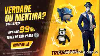 """Evento """"Verdade ou Mentira?"""" – Token de Skin Prata - Mania Free Fire"""