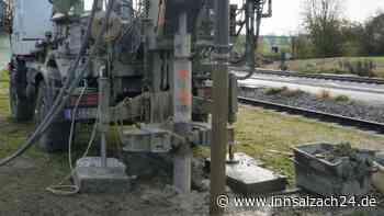 Bahnausbau: Bodenerkundungen bei Burgkirchen - innsalzach24.de