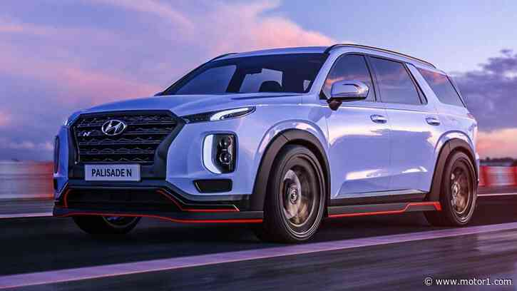Hyundai Palisade N And Nexo N Are Fake, But Should Be Real - Motor1