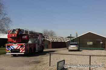 Stal vol rook na brand in ventilatiesysteem, Hoenkoopse Buurtweg Haastrecht - Hardnieuws